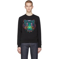 Black Limited Edition Holiday Tiger Sweatshirt