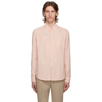 Pink Corduroy Slim Fit Shirt