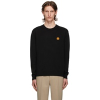 Black Tiger Crest Sweater