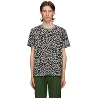 Grey Leopard T-Shirt