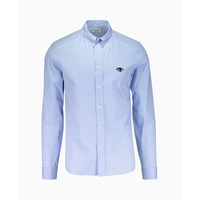 Kenzo - Eye Crest Urban Slim Fit Shirt - Blue