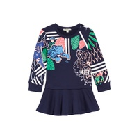 KENZO Multi Iconics Sweatshirt Dress