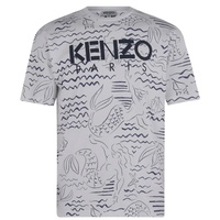 KENZO All Over Print Paris T Shirt