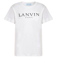 LANVIN Junior Boys Logo Short Sleeve T Shirt