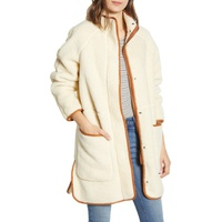 MADEWELL Estate Faux Shearling Coat