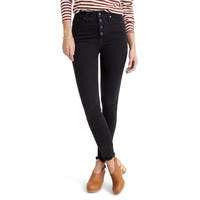 MADEWELL 10-Inch High Waist Skinny Jeans Button-Through Edition