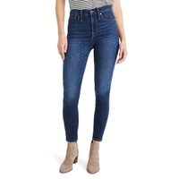 MADEWELL 10-Inch High Waist Skinny Jeans: Cashmere Denim Edition