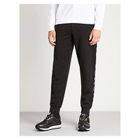 MCQ ALEXANDER MCQUEEN Logo-embroidered cotton-jersey jogging bottoms