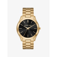 Oversized Slim Runway Gold-Tone Watch