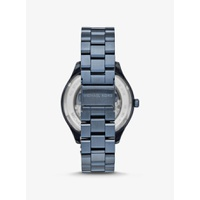 Oversized Merrick Blue-Tone Watch