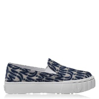 Jaquard Slip-On Trainers