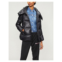 MONCLER Serin shell down-blend coat