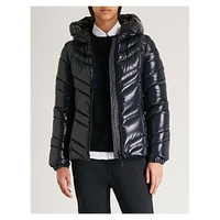 MONCLER Fuligule hooded shell-down coat