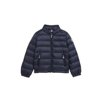 MONCLER Acorus Channel Quilted Down Moto Jacket