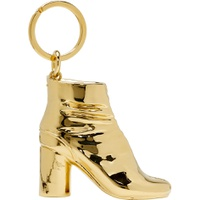 SSENSE Exclusive Gold Tabi Boot Keychain