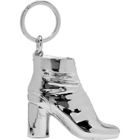 SSENSE Exclusive Silver Tabi Boot Keychain