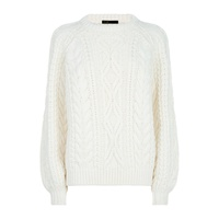 Maje Cable Knit Sweater
