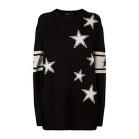Maje Knitted Star Sweater