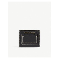 MARC JACOBS Compact grind leather wallet