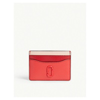 MARC JACOBS Logo leather card holder
