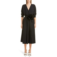 MARC JACOBS Rosette Belt Wrap Dress