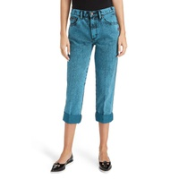 MARC JACOBS The Turn Up Overdye Jeans