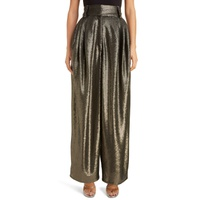 MARC JACOBS High Waist Wide Leg Sequin Pants