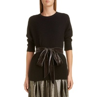 MARC JACOBS Bow Detail Thermal Sweater