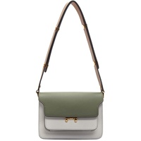Green & Grey Mini Trunk Bag