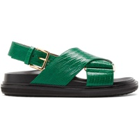 Green Snake Fussbett Sandals