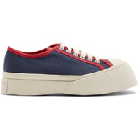 Blue & Red Pablo Sneakers