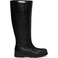 Black Tall Pull-On Boots