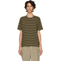 Marni Yellow & Grey Striped T-Shirt