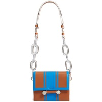 MARNI Caddy Racing Stripe Leather Shoulder Bag
