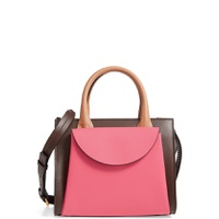 MARNI Small Law Colorblock Leather Top Handle Satchel