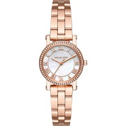 Michael Kors Watches Petite Norie Stainless Steel Three-Hand Watch