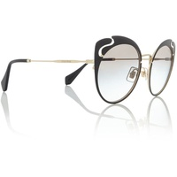 Miu Miu Black Mu 57Ts Butterfly Sunglasses