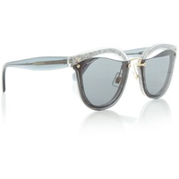 Miu Miu Grey 0MU 03TS Irregular Sunglasses
