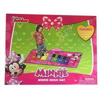 Moose Mountain Disney Minnies Music Mat Electronic Piano (packaging may vary)