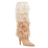 NINEWEST Questforu Boots with Feathers