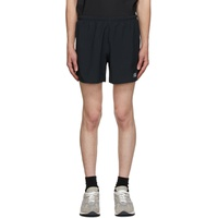 Black Medium Length Impact Run Shorts