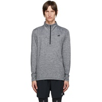 Grey Fortitech Quarter-Zip Shirt