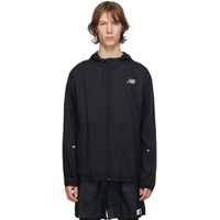 Black Impact Run Light Pack Jacket