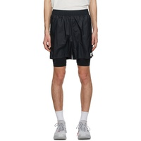 Black All Terrain Shorts