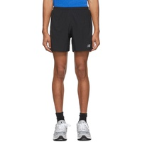 Black Impact Run 5-Inch Shorts