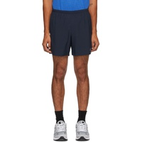 Navy Impact Run 5-Inch Short