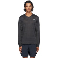 Black Q Speed Long Sleeve T-Shirt