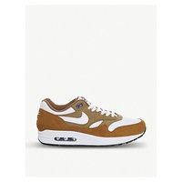 NIKE Air Max 1 leather trainers