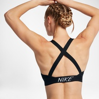 Nike Indy Logo Back Womens Light Support Sports Bra