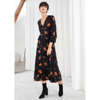 & OTHER STORIES Wrap Midi Dress